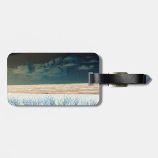 inverted beach sky neat abstract florida shore travel bag tags
