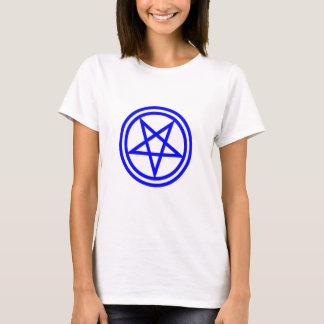Inverted Blue Pentagram T-Shirt