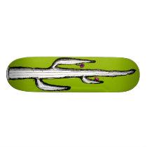 Inverted Cactus Skateboard Deck