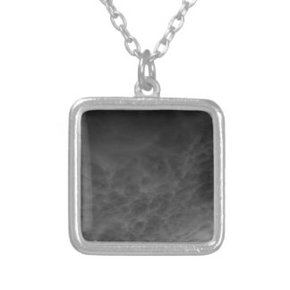 Inverted Clouds Gray Sky Photomanipulation Personalized Necklace