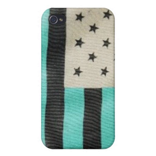 Inverted color flag phone case iPhone 4 cases