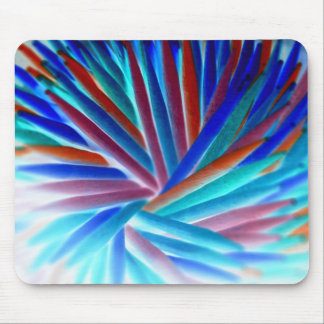 Inverted Color Swirl Mouse Pad