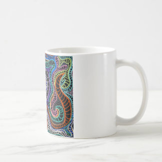 inverted colorz classic white coffee mug