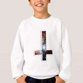 Inverted Cross Galaxy Cosmic Universe Sweatshirt