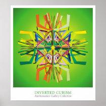 Inverted Cubism Poster