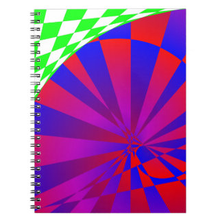 Inverted Dimension by Kenneth Yoncich Spiral Notebook