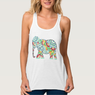 Inverted Elephant Colored Tank Top
