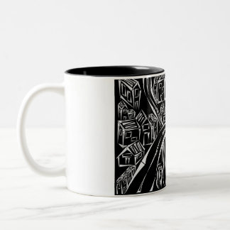 Inverted Encircled Town Mug
