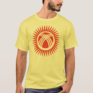 Inverted Kyrgyzstan Flag T-Shirt