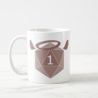 Inverted Natural One D20 Mug