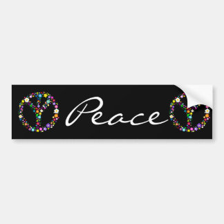 Inverted Peace Sign - as its inventor wanted Bumper Sticker