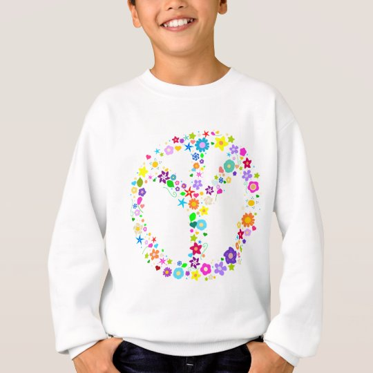 Inverted Peace Sign - as its inventor wanted Sweatshirt