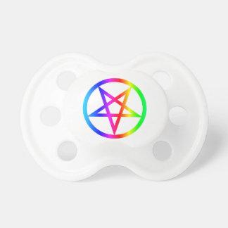 Inverted Pentagram Pacifier