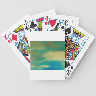 Inverted Photo Bicycle Playing Cards