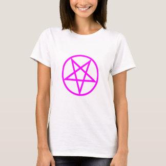 Inverted Pink Pentagram T-Shirt