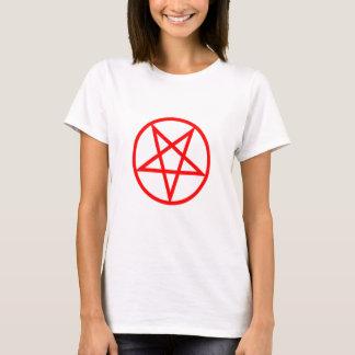 Inverted Red Pentagram T-Shirt