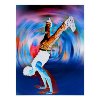 Inverted Street Dancing! Poster