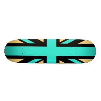 Inverted Union Jack Skateboard Deck