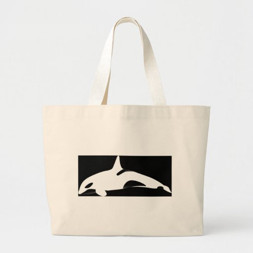 Inverted Up Side Down Killer Whale Bag