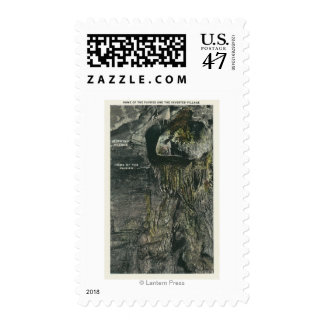 Inverted Village and Home of the Fairies View Postage