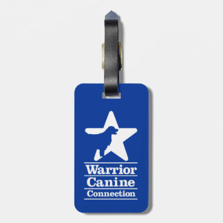 Inverted WCC logo luggage tag