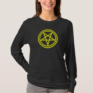 Inverted Yellow Pentagram T-Shirt