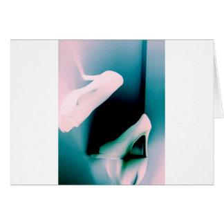 Inverterd Pastel Shoes Card