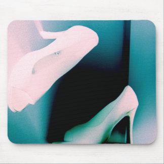 Inverterd Pastel Shoes Mouse Pad