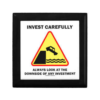 Invest Carefully Always Look At The Downside Any Gift Box