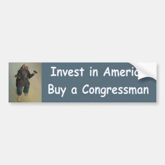 invest in america bumper sticker