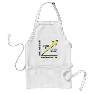 INVEST IN SOCIAL CAPITAL ADULT APRON