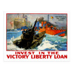 Invest in the Victory Liberty Loan Post Cards