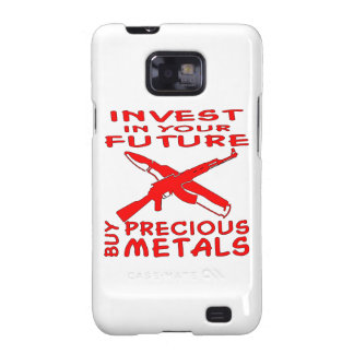 Invest In Your Future Buy Precious Metals (AK47) Samsung Galaxy SII Cover