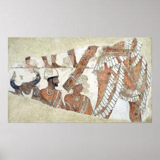 Investidura del rey de la diosa Ishtar Poster