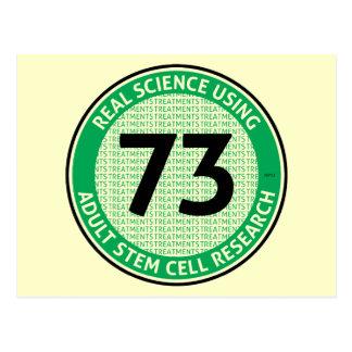 Investigación adulta de la célula madre tarjeta postal