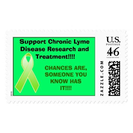 investigación crónica tic, de la ayuda de Lyme de  Sello