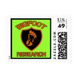 Investigación de Bigfoot Sellos