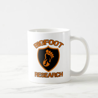 Investigación de Bigfoot Tazas