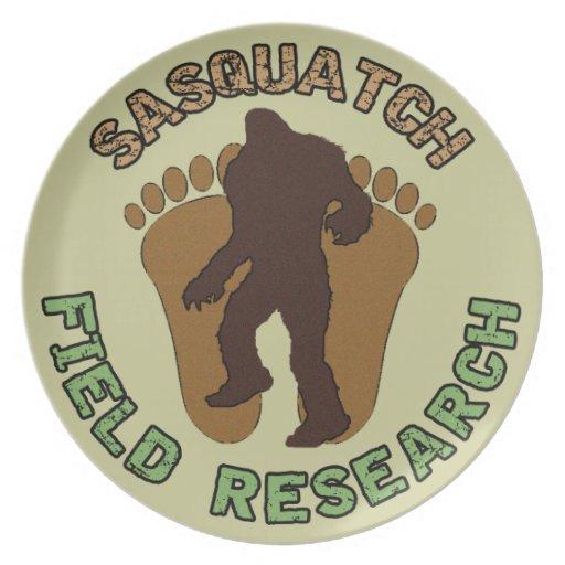 Investigación de campo de Sasquatch Plato De Cena