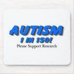 Investigación de la ayuda del autismo alfombrilla de raton
