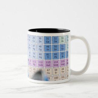 Investigación de la ciencia, imagen conceptual. Pe Tazas De Café