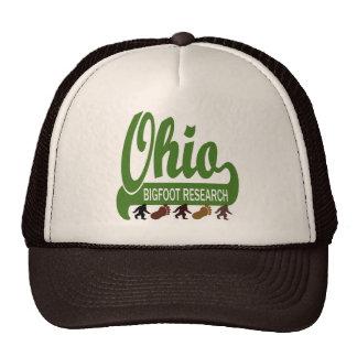 Investigación de Ohio Bigfoot Gorras De Camionero