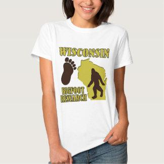 Investigación de Wisconsin Bigfoot Polera