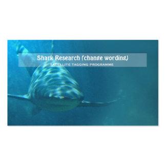 Investigación del infante de marina de la biología tarjeta personal