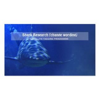 Investigación del infante de marina de la biología tarjetas de negocios