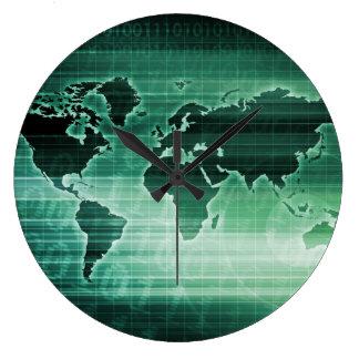 Investigación mundial de la tecnología de la reloj redondo grande