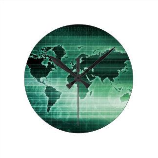 Investigación mundial de la tecnología de la reloj redondo mediano
