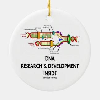 Investigación y desarrollo de la DNA dentro Ornamento Para Arbol De Navidad