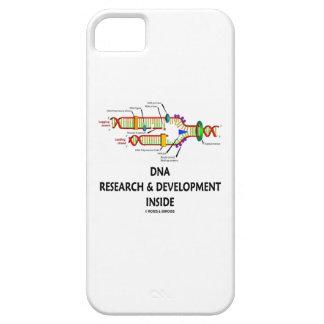 Investigación y desarrollo de la DNA dentro iPhone 5 Cárcasa