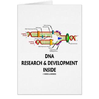 Investigación y desarrollo de la DNA dentro Felicitacion
